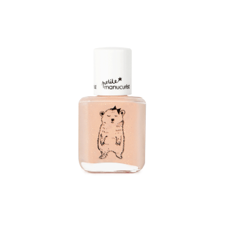 VERNIS ROSE PAILLETTES MANUCURIST JOY L'OURSONNE