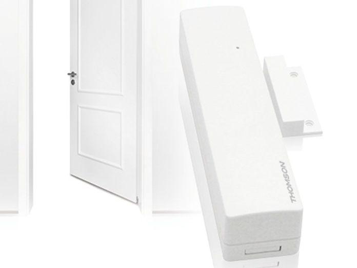 Détecteur connecté d'ouverture pour portes et fenêtres Thomson