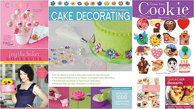 Cake Decorating And Baking Books: April Round Up