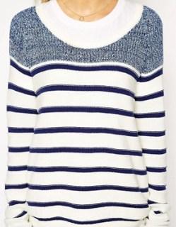 Image 3 of Hilfiger Denim Striped Sweater