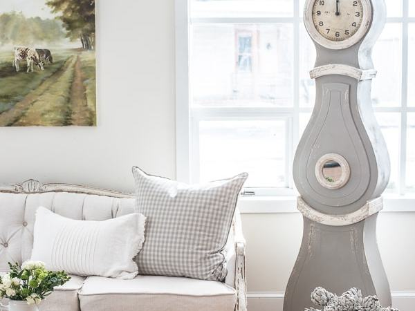 Mora clock in a sitting room