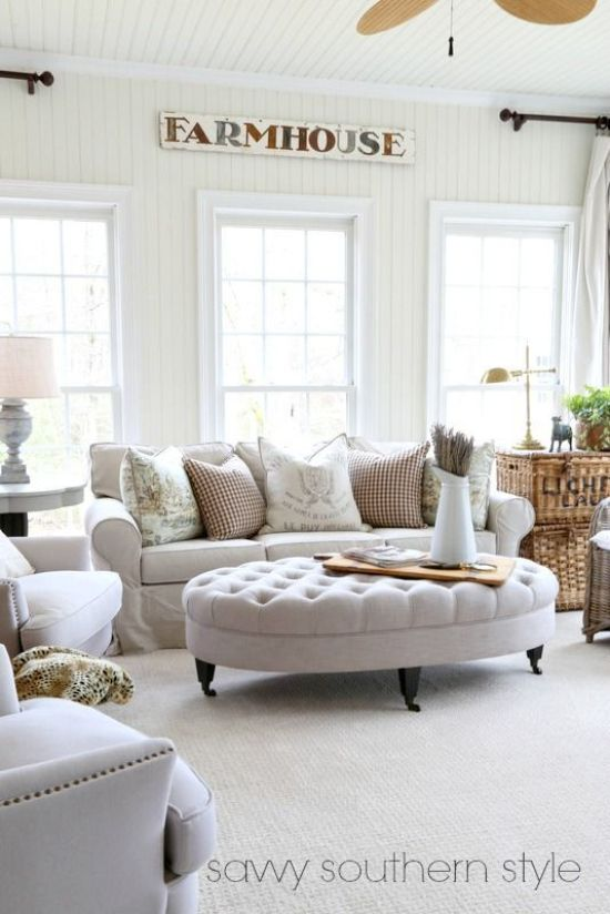 white-tufted-coffee-table-ottoman