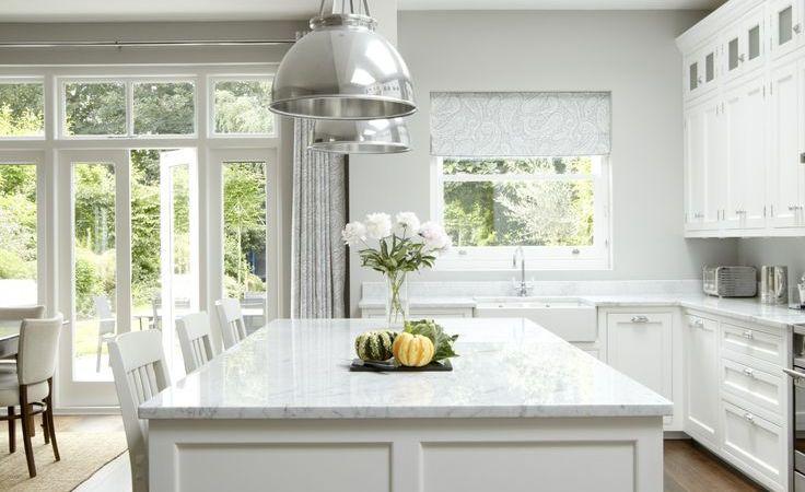 Friday Favorites – Grey & White Kitchens