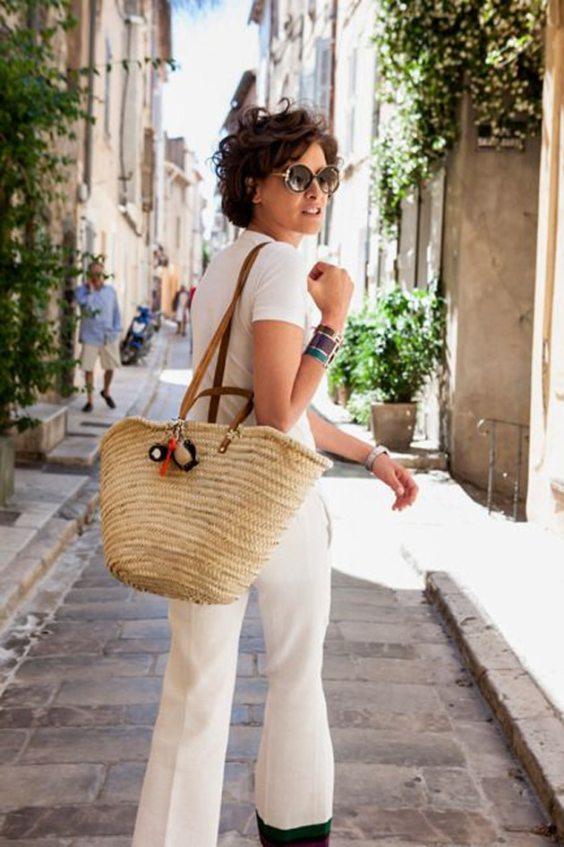 straw-bag-white-outfit-ines-de-la-fressange