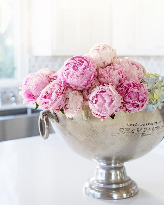 pink-peonies-silver-champagne-bucket