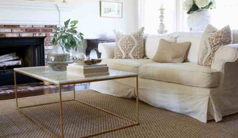 New Hardwood Floors and Seagrass Rugs – the Full Reveal!