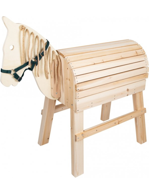 cheval de voltige en bois pour enfant balane