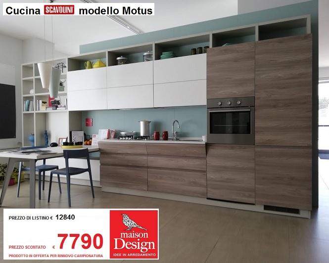 Cucina mod. Motus by Scavolini | Maison Design