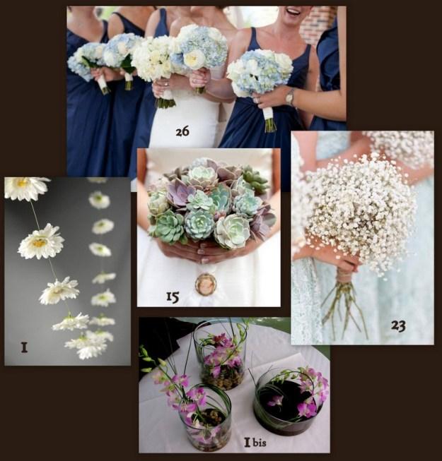 1-Bouquets simples