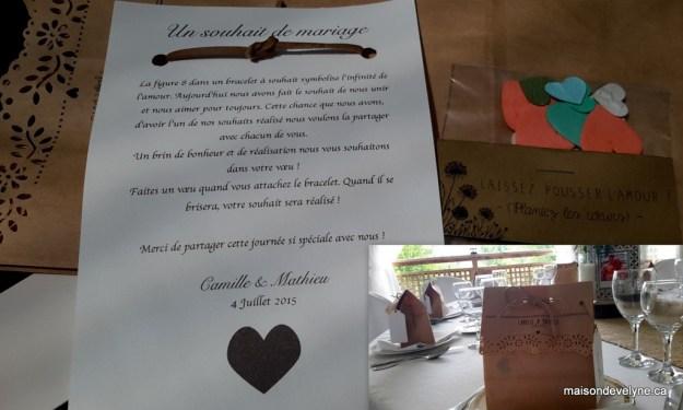 Cadeau invités Camille et Mathieu 4 juil 15
