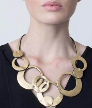collar Olivia Corto Dorado