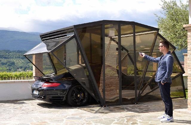 gazebox le premier garage pliant