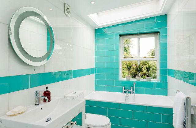 Salle De Bains Turquoise Idees D Ameublement