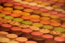 viele leckere Macarons