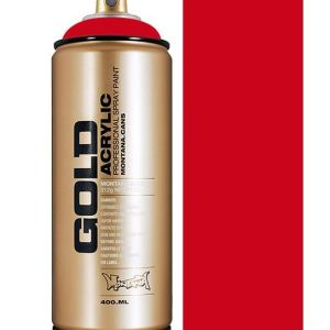 Montana GOLD spuitverf rood 400 ml