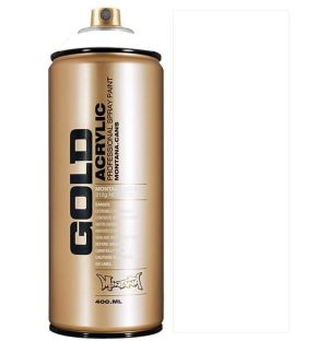 Montana GOLD spuitverf Shock  wit 400 ml