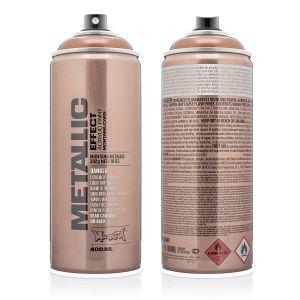 Montana Metallic Spuitbus Koper 400 ml