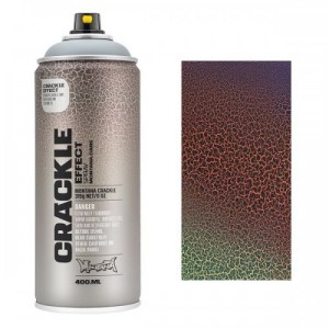 Montana CRACKLE EFFECT Spray Koper  RAL 8004  400ml