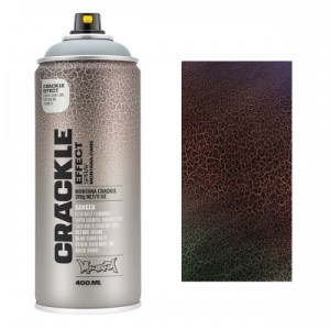 Montana CRACKLE EFFECT Spray Black 400ml