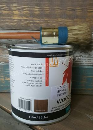 Woodstain  Rosewood 1 liter