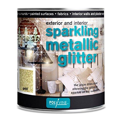 Glittervernis Goud  500 ml