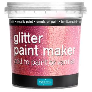 Glitter paint maker Roze