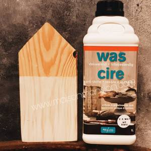 Verniswas Wit extra mat 1 liter Polyvine