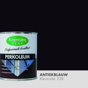 Perkoleum Antiekblauw 750 ml