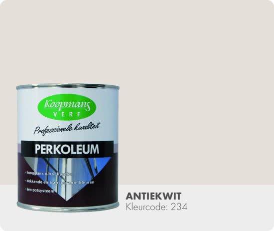antiekwit, perkoleum, koopmans, maisonmansion, hoogglans, verfbeits