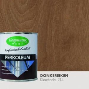 Perkoleum donker eiken hoogglans transparant 750 ml