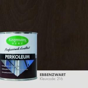 Perkoleum Ebben zwart hoogglans transparant 750 ml