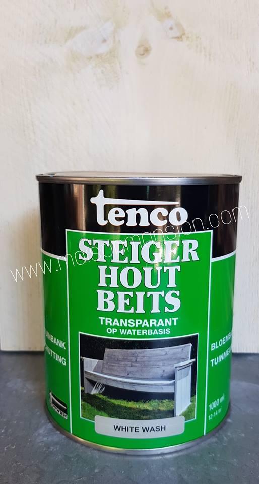 Fabulous Steigerhoutbeits White wash 1 liter - Maison Mansion AX87