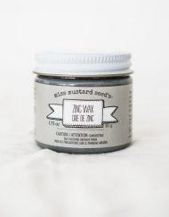 zinc wax, zink, waxen, maisonmansion, miss mustard seed, metalic
