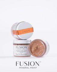 Een wax met een koper effect Fusion Mineral Paint van MaisonMansion