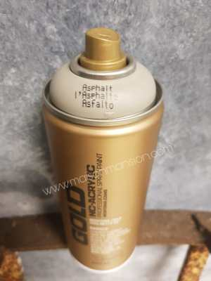Montana Gold spuitbus Asphalt 400 ml