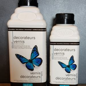 Polyvine Decorateurs vernis extra mat 1 liter