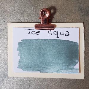 Metallic muurverf Ice Aqua 1 liter