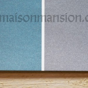 Metallic muurverf Blue Grey 1 liter Maisonmansion
