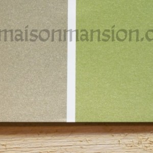 Metallic muurverf Olive Green 1 liter Maisonmansion