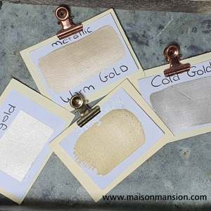 Metallic muurverf Only Gold 1 liter Maisonmansion