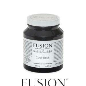 Fusion Mineral Paint Coal Black 500 ml