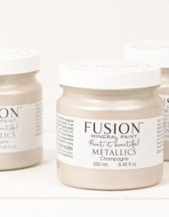 Fusion Mineral Paint Metallic Champagne 250 ml