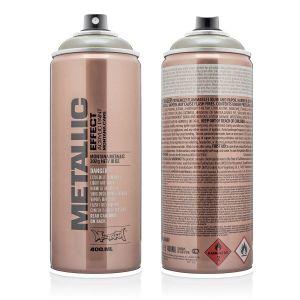 Montana Metallic Spuitbus Titanium 400 ml