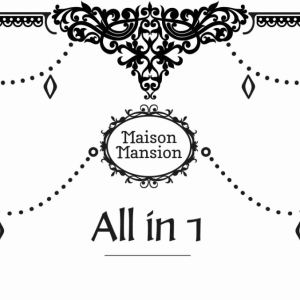 All in 1 verf MaisonMansion 1 liter Eigen kleur