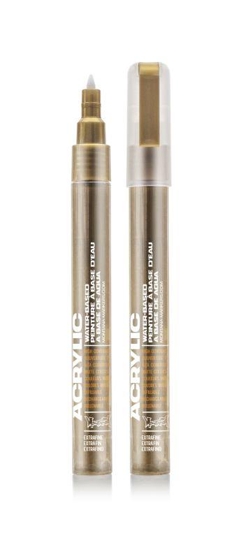 Montana Acrylic Marker Metallic Gold 0,7 mm