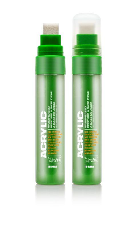 Montana Acrylic Marker Shock Green 15 mm