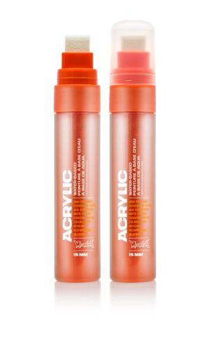Montana Acrylic Marker Shock Orange Dark 15 mm