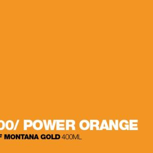 Montana Acrylic Marker Power Orange 2 mm