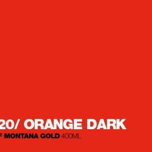 Montana Acrylic Marker Shock Orange Dark 2 mm