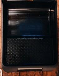 Verfbak zwart groot 26x32 cm (1)